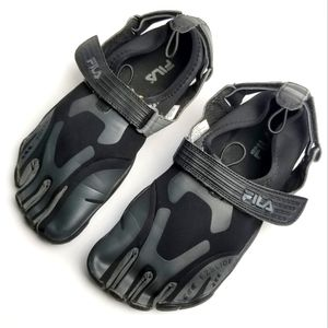 FILA Men's Skele-Toes EZ Slide Shoes 12M